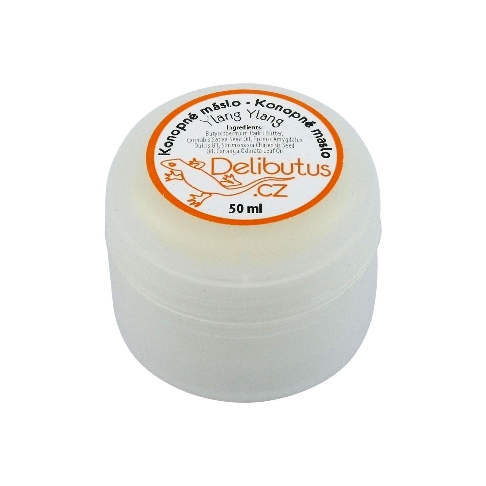 Delibutus Konopné máslo Ylang ylang 50 ml