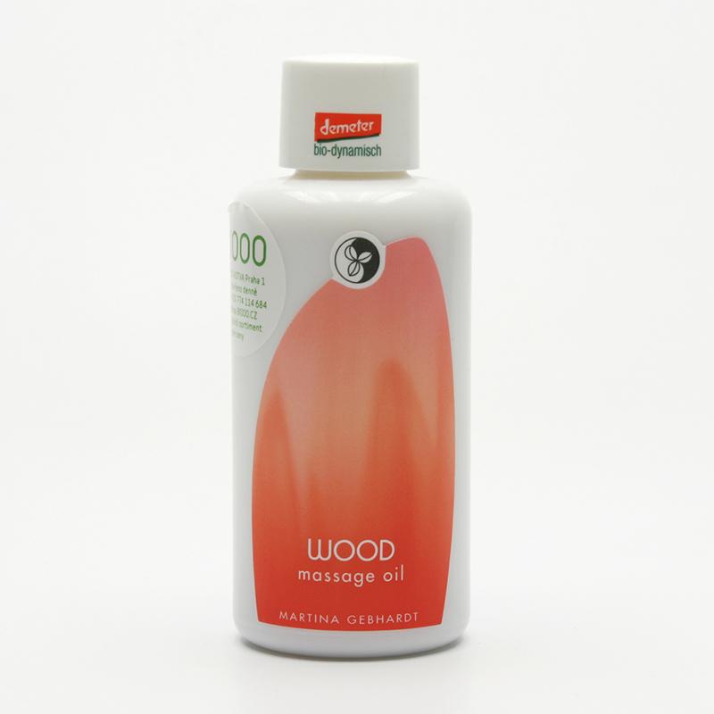 Martina Gebhardt vzor Masážní olej, Wood Massage Oil 100 ml