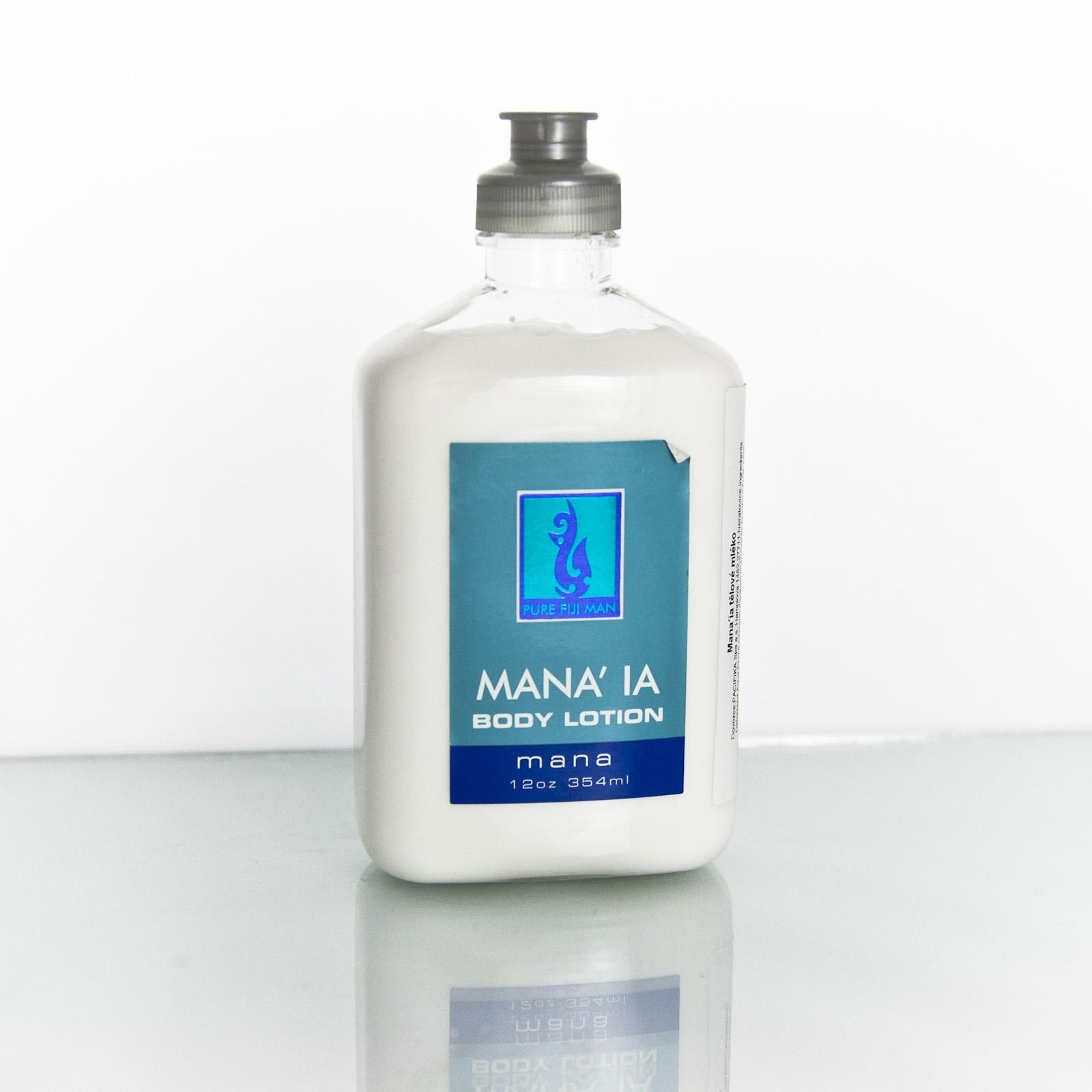 Pure Fiji Pánské tělové mléko Mana'ia 354 ml