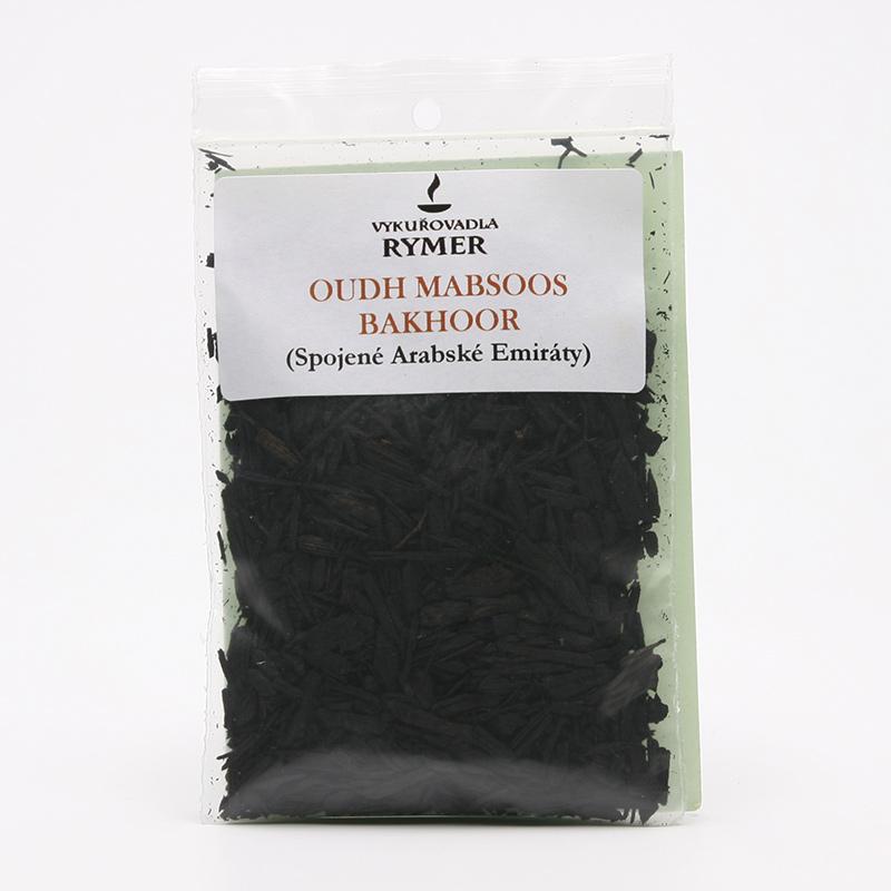 ostatní Vykuřovací směs bakhoor, Oudh Mabsoos 20 g