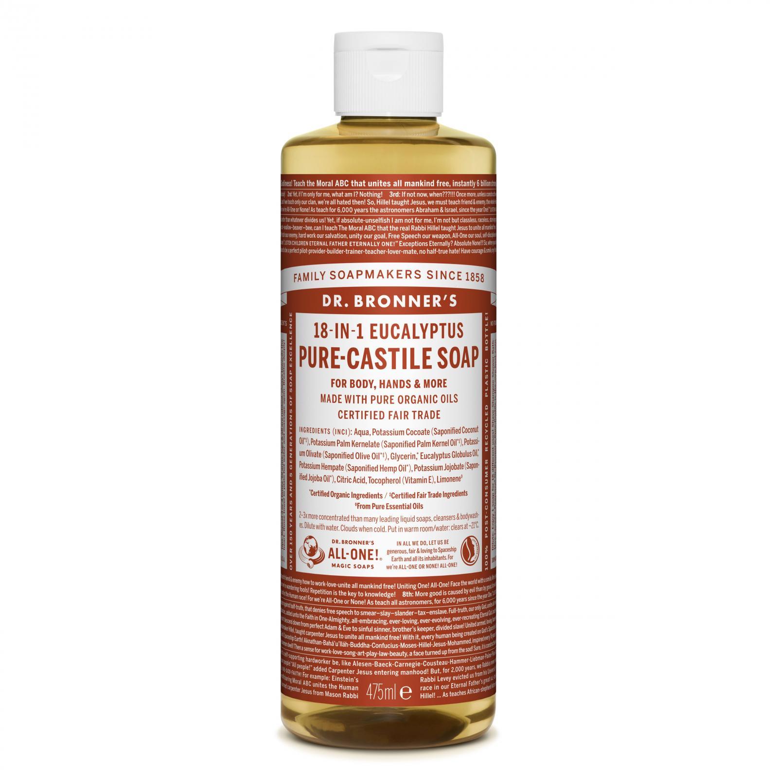 Dr. Bronner´s Tekuté universální mýdlo ALL-ONE!, Eukalyptus 475 ml