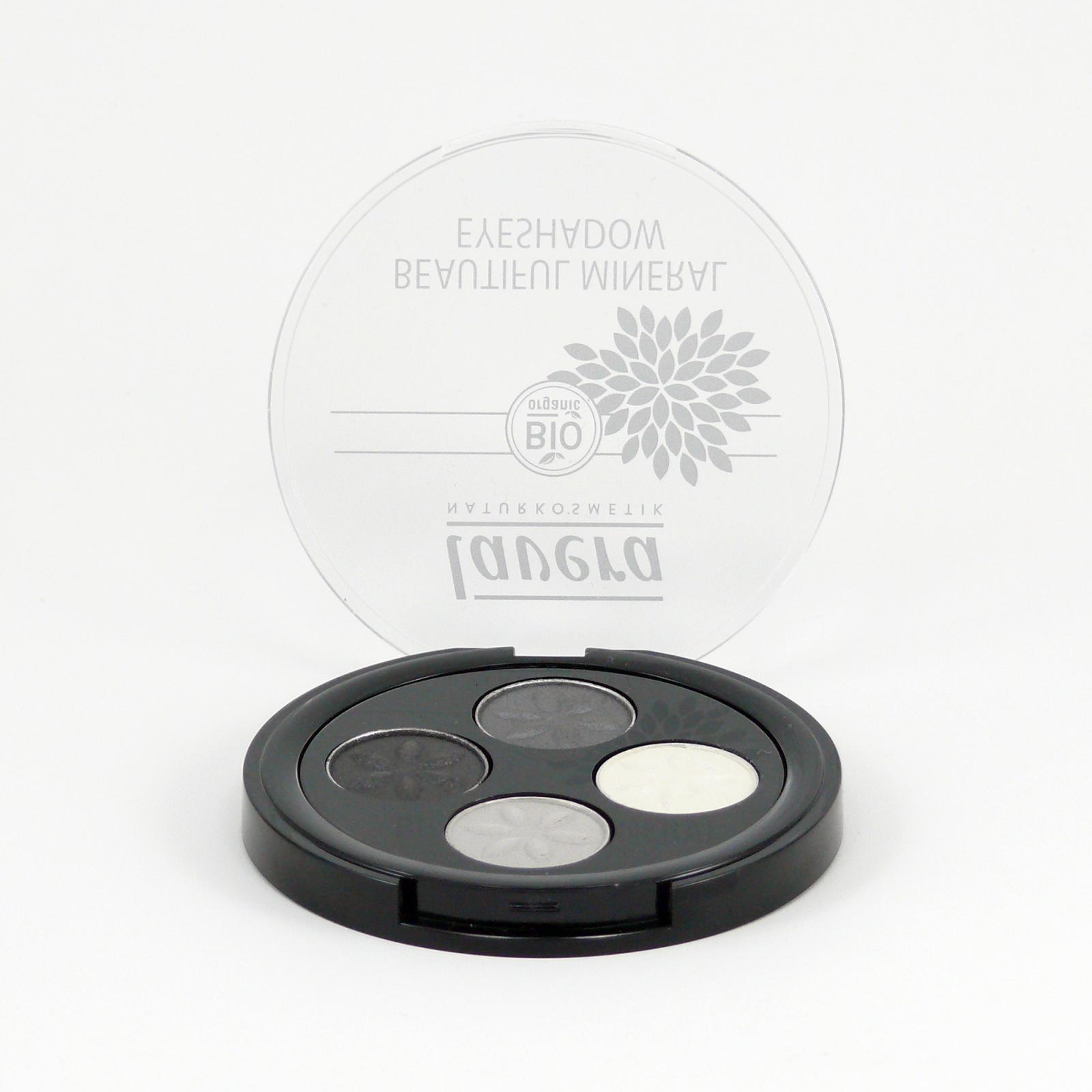 Lavera Oční stíny QUATRO 01 kouřová šedá, Trend Sensitive 2014 3,2 g
