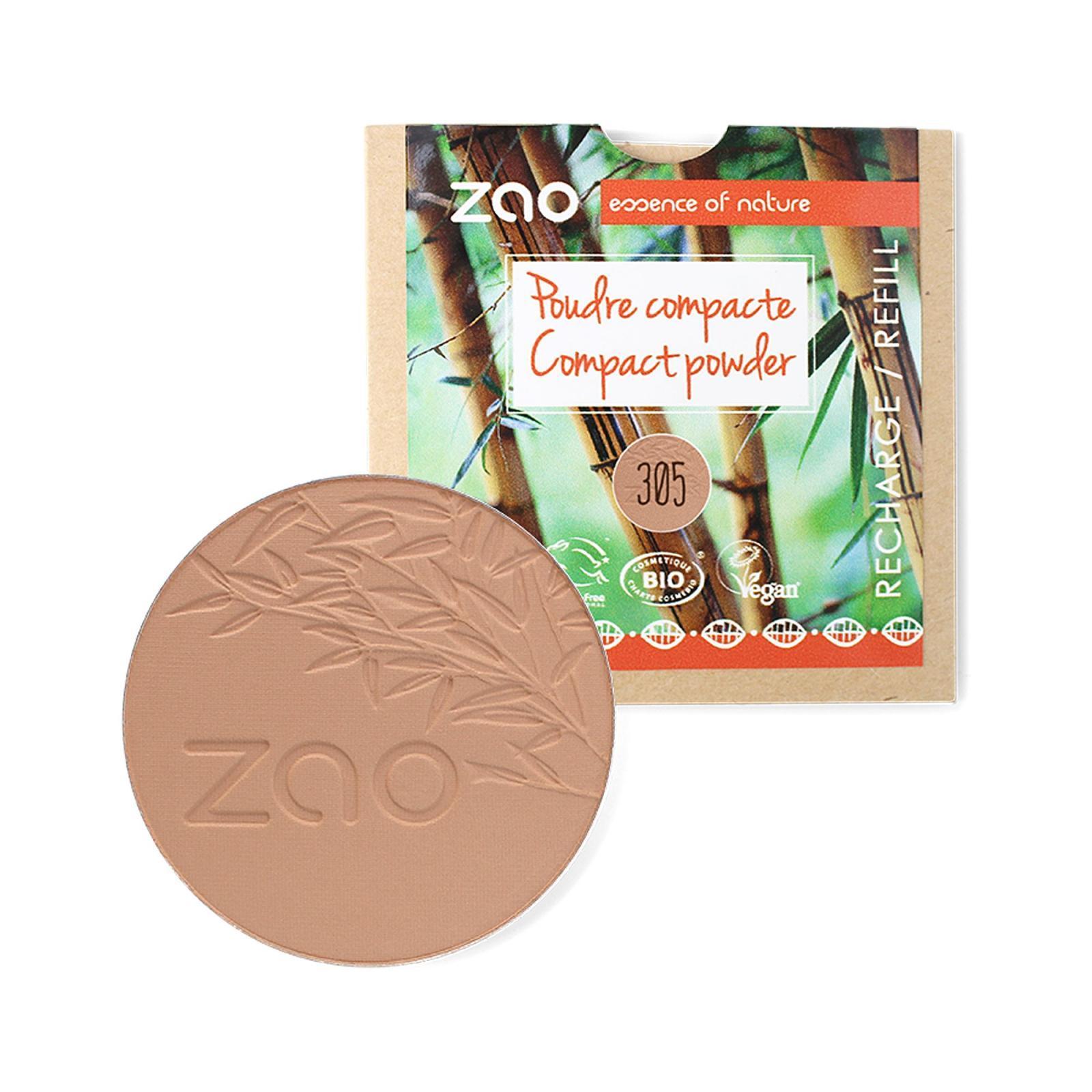 ZAO Kompaktní pudr 305 Milk Chocolate 9 g náplň