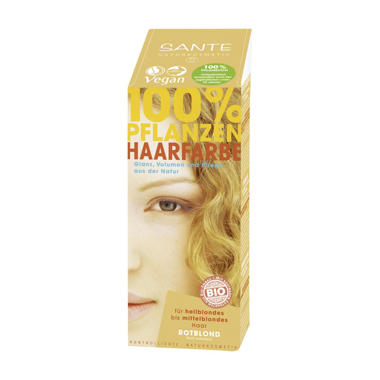SANTE Rostlinná barva na vlasy teplá blond 100 g