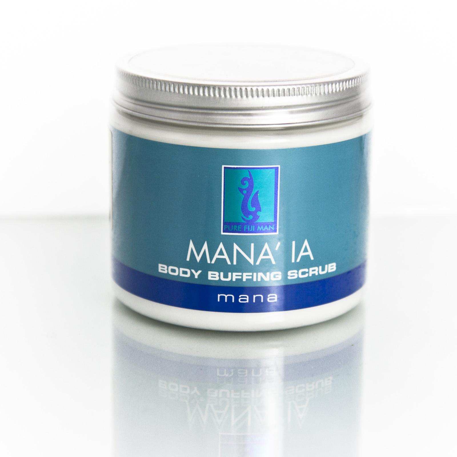 Pure Fiji Pánský tělový peeling Mana'ia 472 ml
