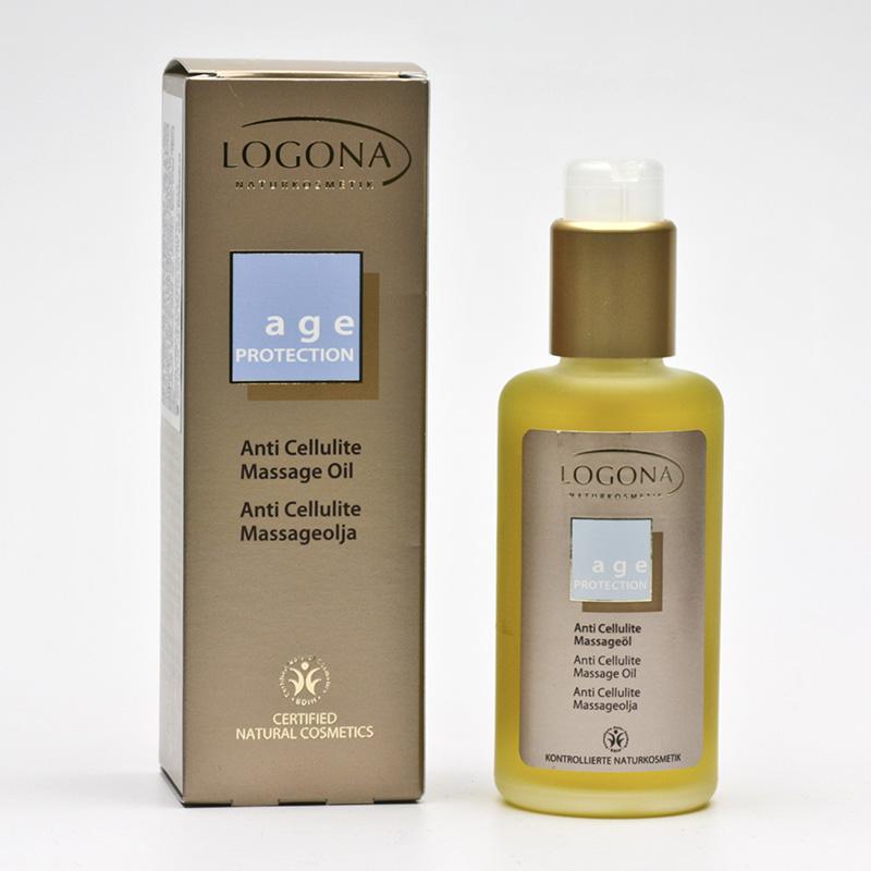 Logona Masážní olej Anti Cellulite, Age Protection - vyřazen 100 ml