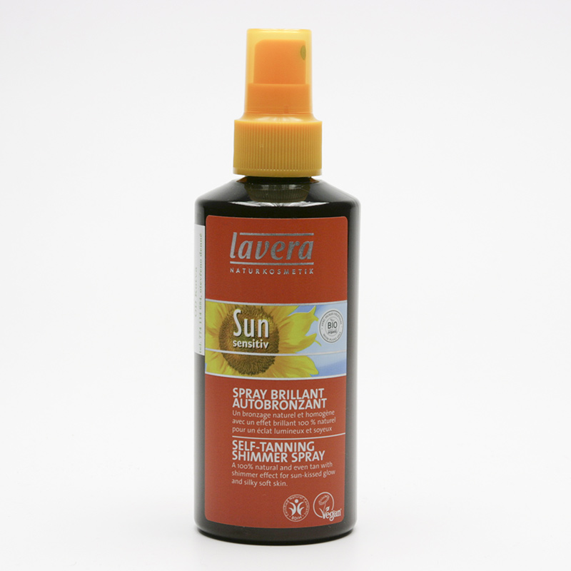 Lavera xxSamoopalovací sprej se třpytkami, Sun Sensitive 200 ml