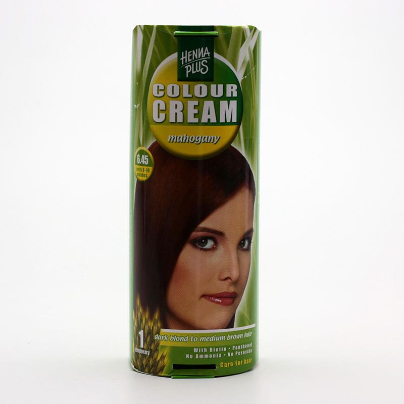 Henna Plus Krémový přeliv Mahagon 6.45 60 ml