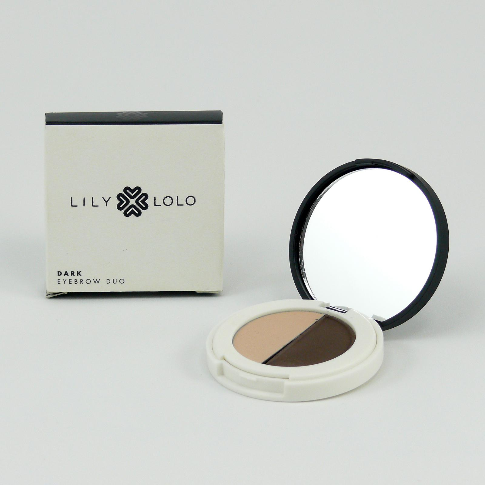 Lily Lolo Mineral Cosmetics Duo na obočí Dark 2 g
