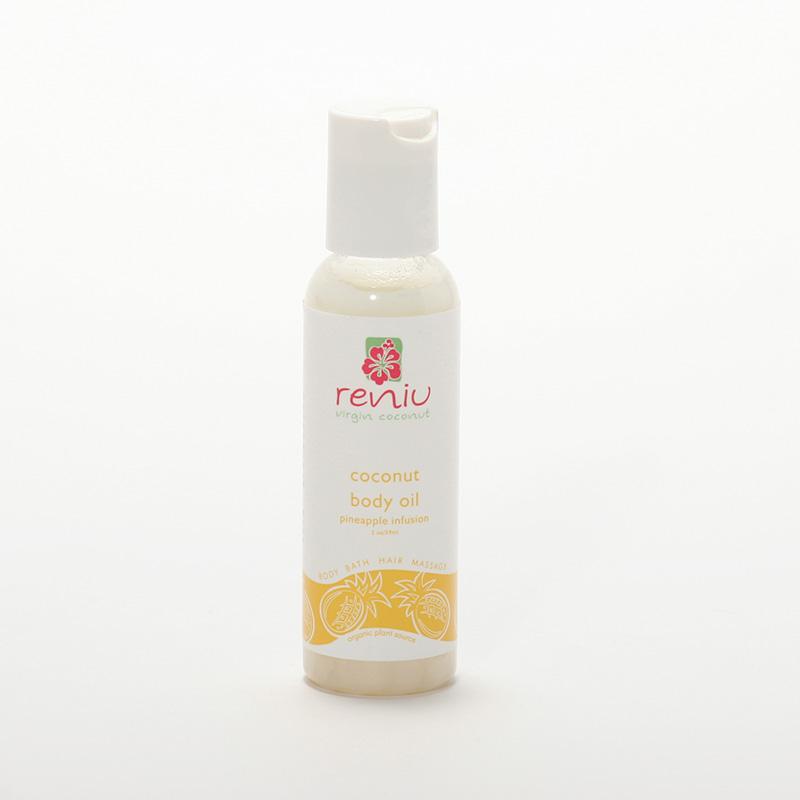 Reniu Fiji Kokosový olej extra panenský, ananas 59 ml