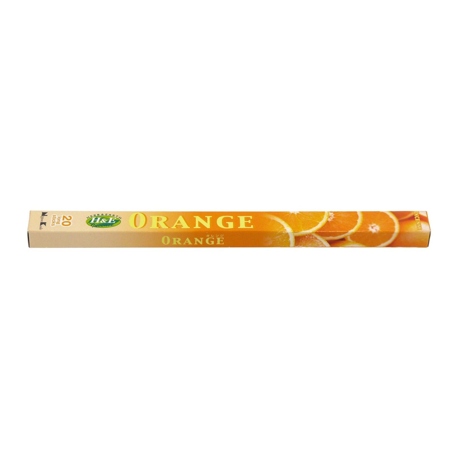Nippon Kodo Vonné tyčinky japonské Herb and Earth Orange 20 ks