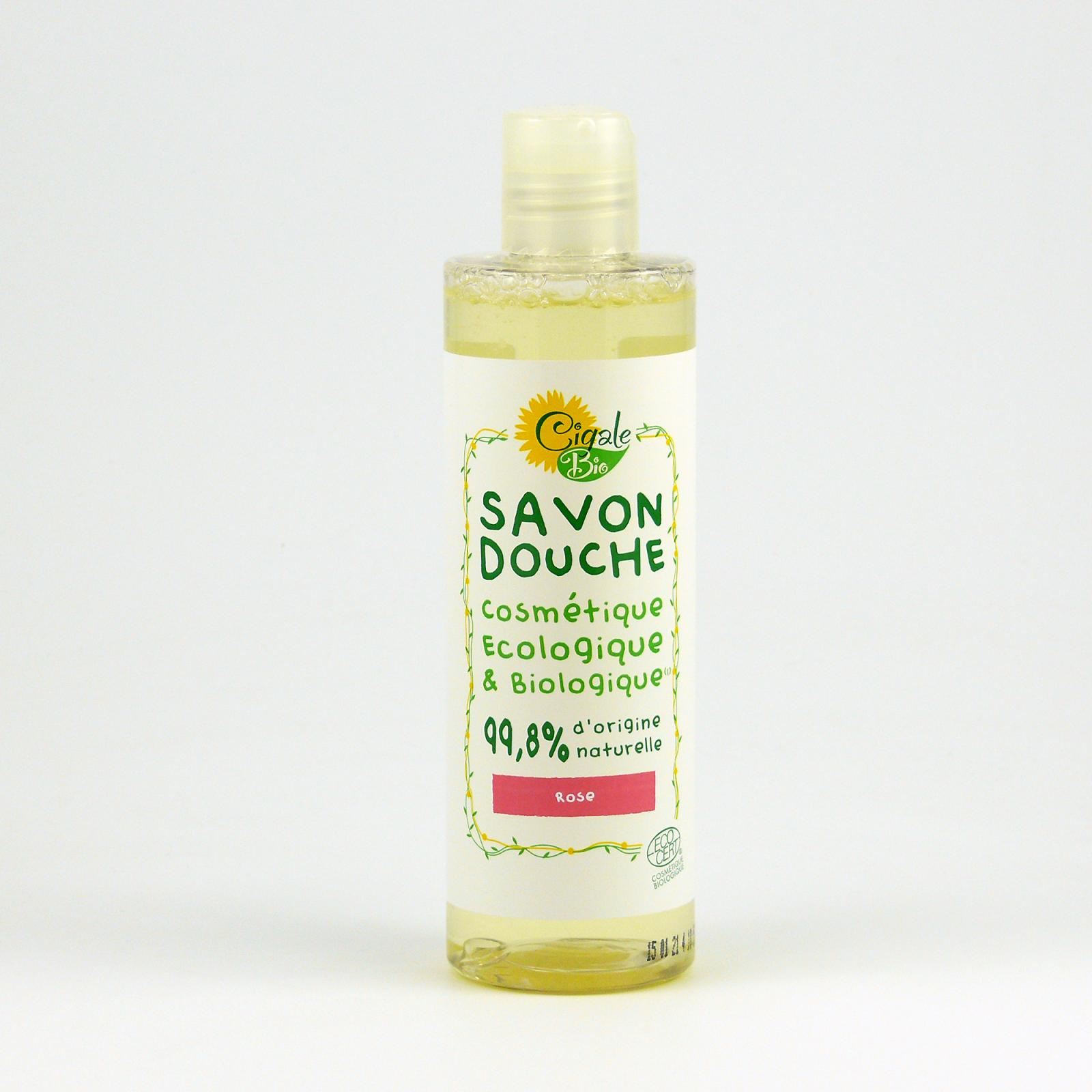 Cigale BIO Sprchový gel s růží 250 ml