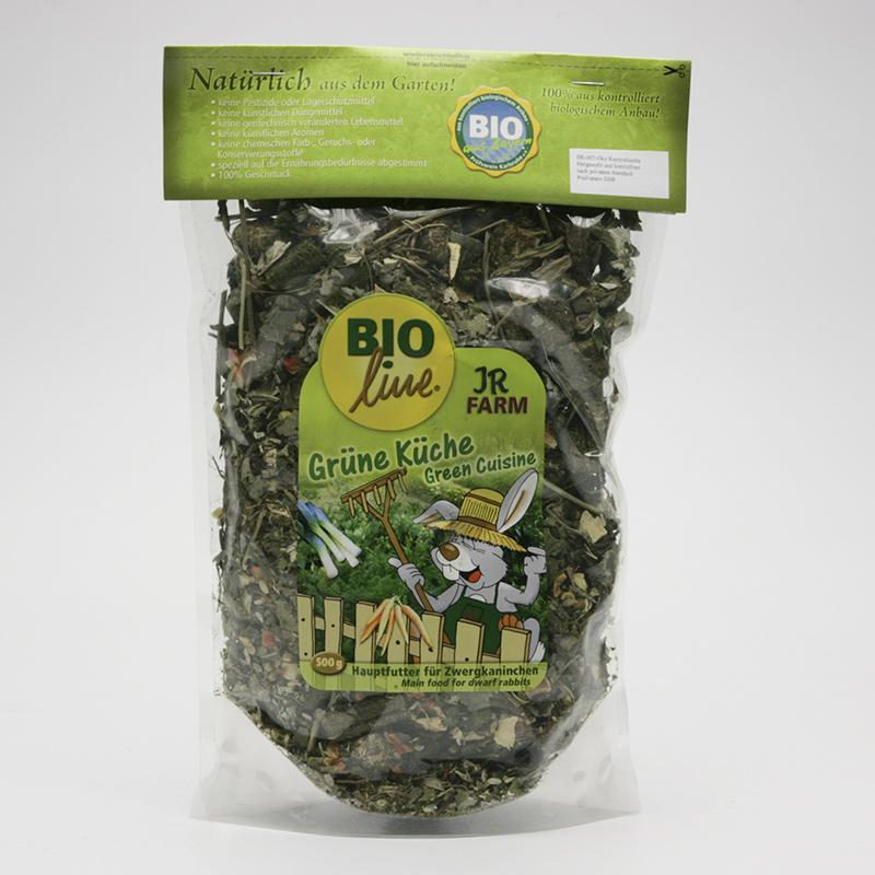 JR Farm Biokrmivo pro zakrslé králíky, Green Cuisine 1,5 kg