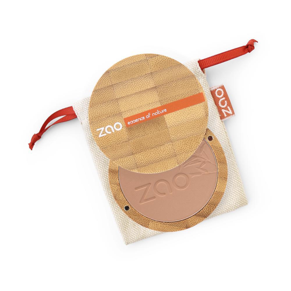 ZAO Kompaktní pudr 305 Milk Chocolate 9 g bambusový obal