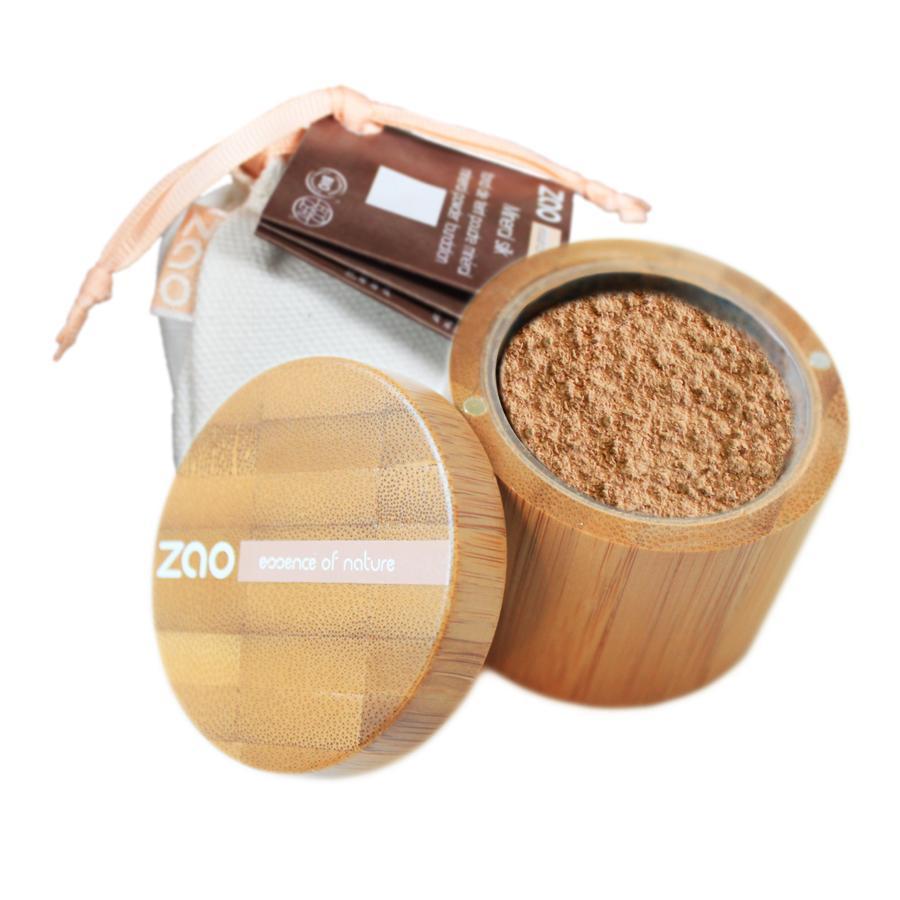 ZAO Hedvábný minerální make-up 502 Pinkish Beige 15 g bambusový obal