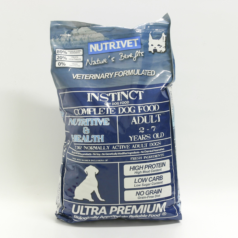 Nutrivet Výprodej Krmivo pro psy Instinct Nutritive and Health, Nutrivet  12 kg, psi 2-7 let