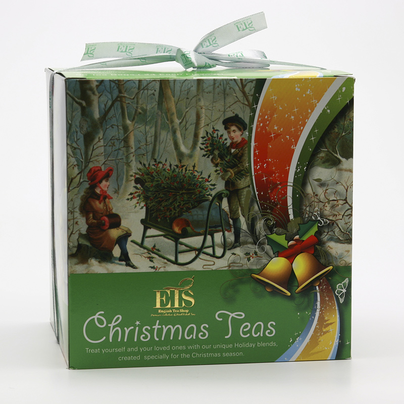 English Tea Shop Vánoční sada Viktoriánský styl II 2013 4 druhy, 96 ks