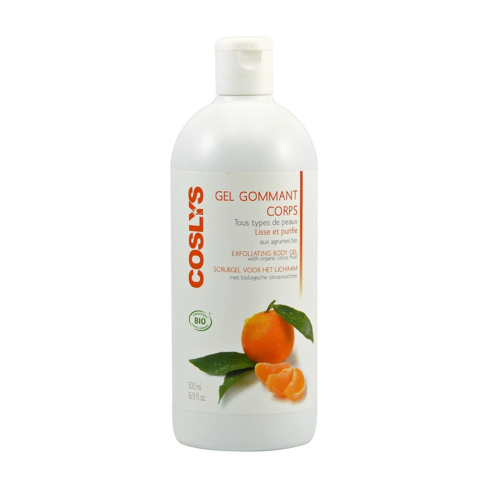 Coslys Exfoliační tělový gel citrusy 500 ml