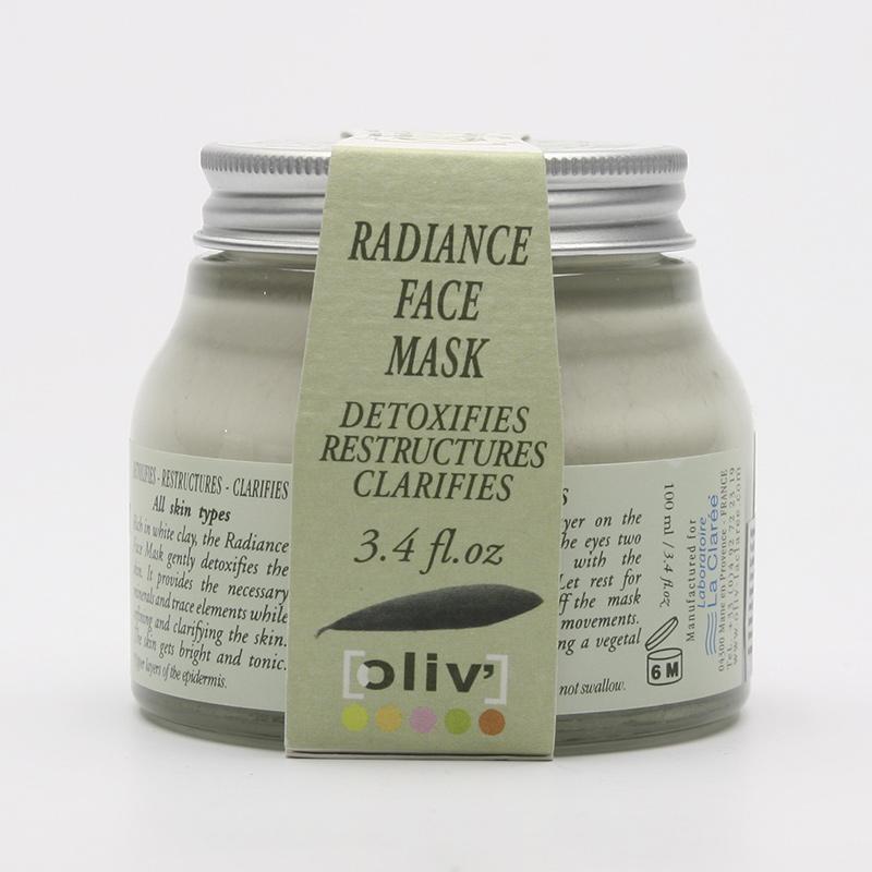 La Clarée Maska pleťová rozjasňující, oliv' 100 ml