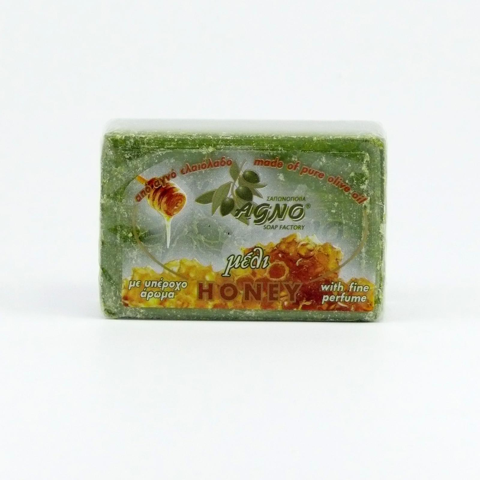 Agno Mýdlo olivové med 125 g