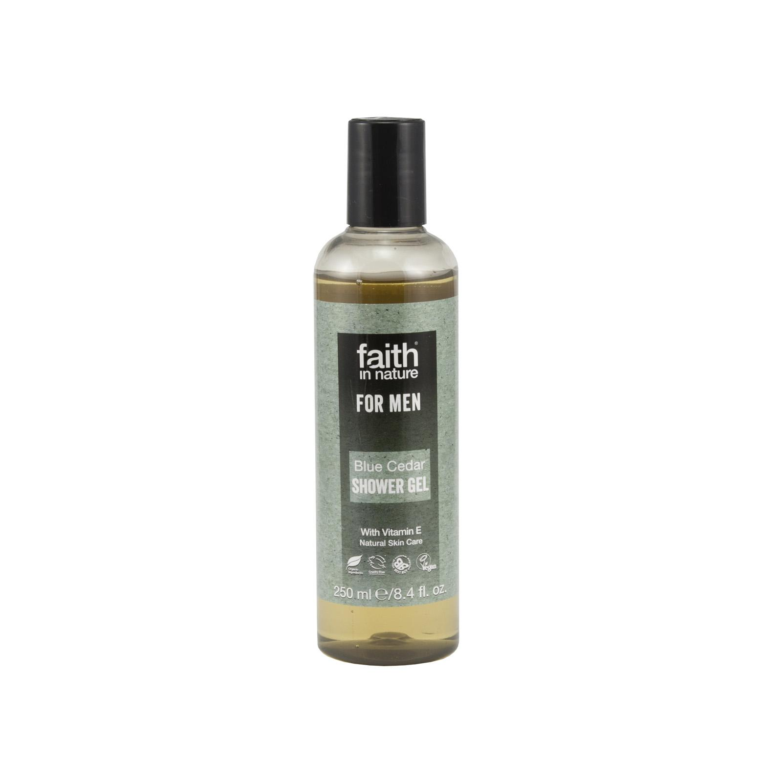 Faith in Nature Sprchový gel modrý cedr, Faith for men 250 ml