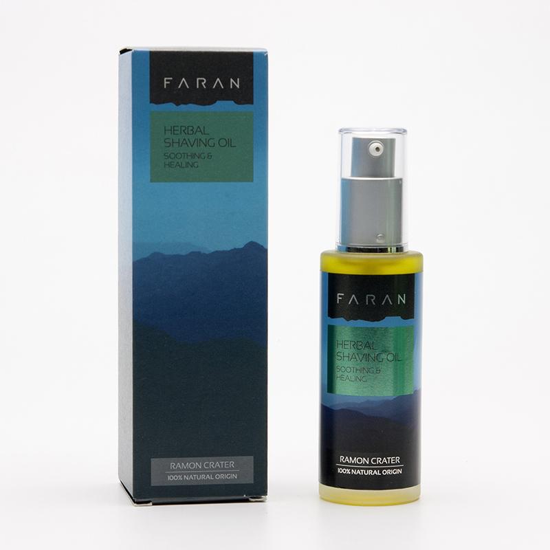 Faran Bylinný olej na holení pro velmi citlivou pleť 50 ml