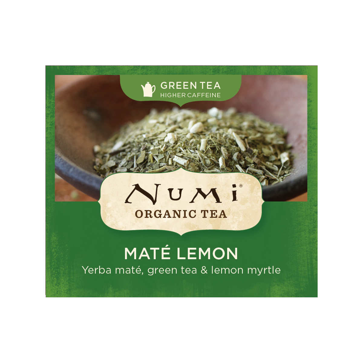 Numi Zelený čaj Mate Lemon Green 1 ks, 2,3 g