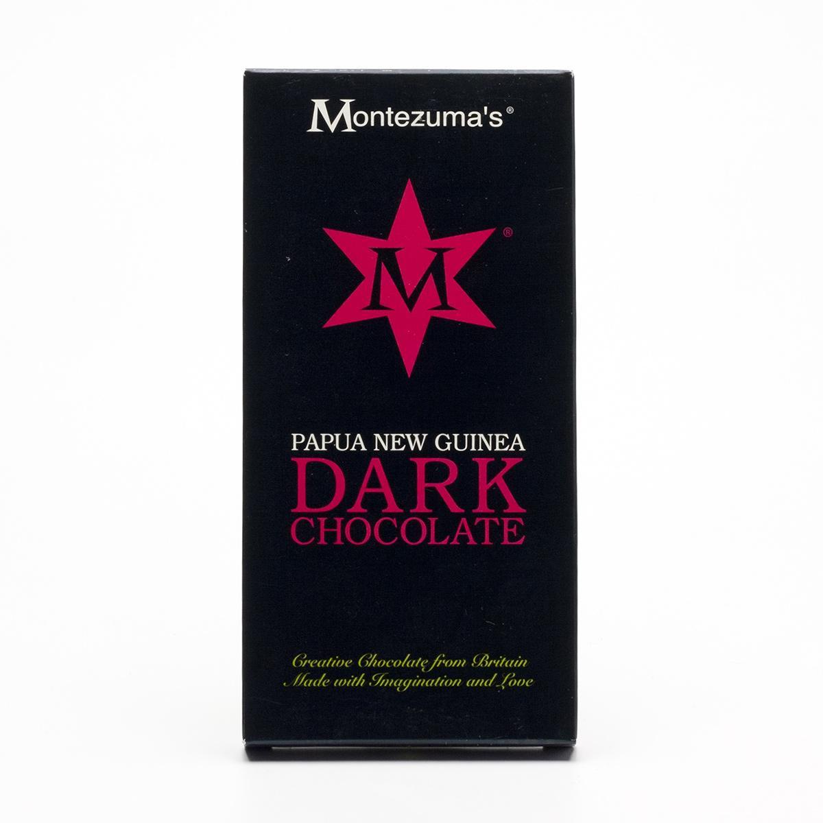 Montezumas Čokoláda tmavá 64% Papua Nová Guinea 100 g