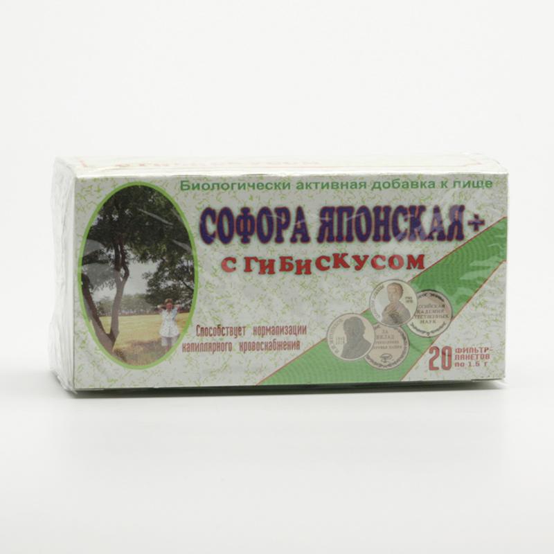 ostatní Čaj ibiškový se soforou 20 sáčků, 60 g