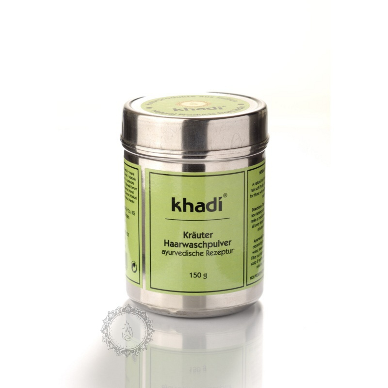 Khadí Prášek Ze směsi bylin - šampon & kondicioner 150 g