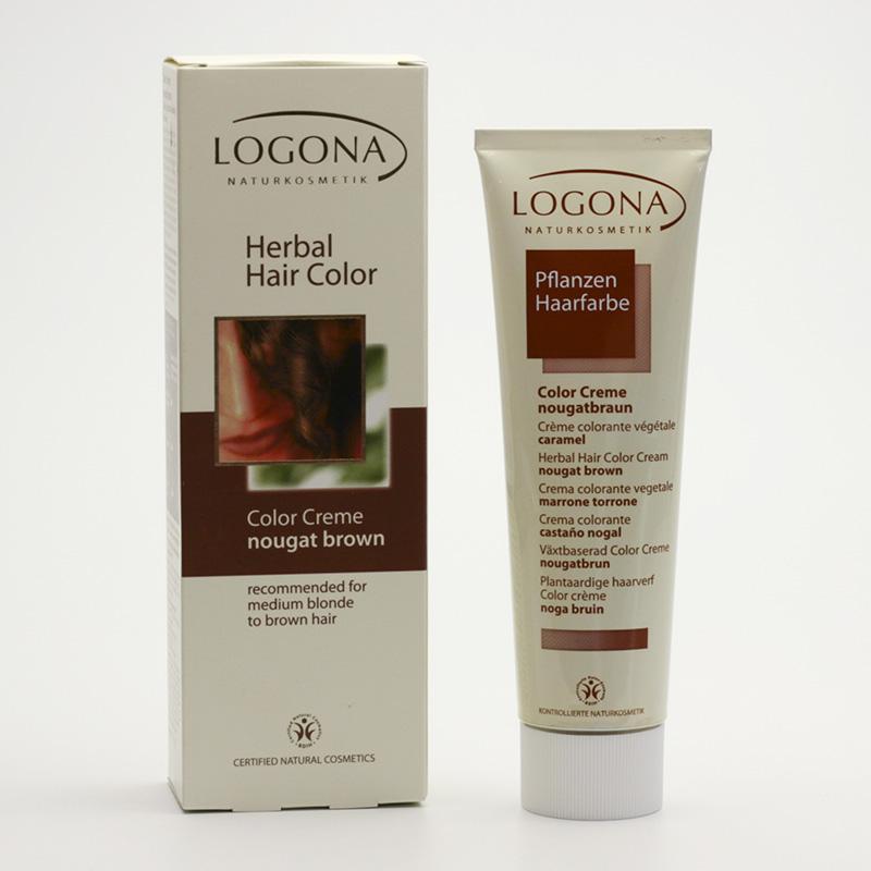 Logona Color creme, nugátová hnědá 150 ml