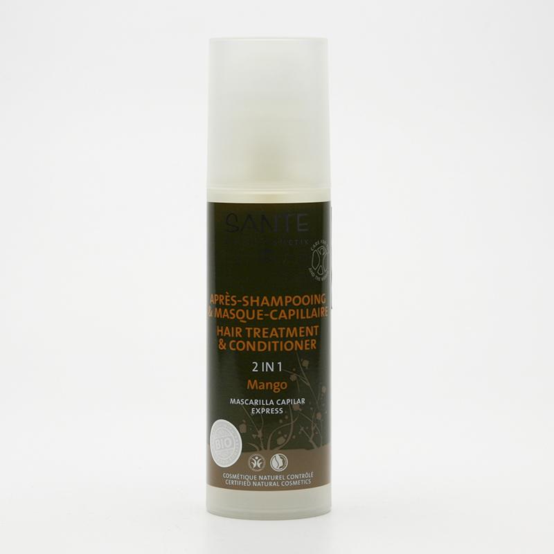 SANTE Vlasová kúra Expres, mango, 2 v 1 150 ml