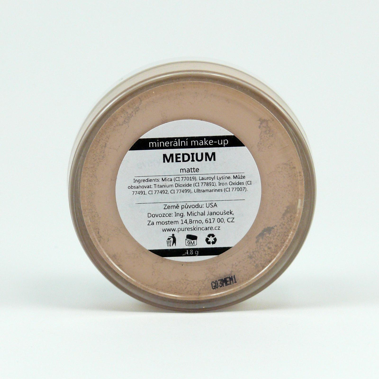 Everyday Minerals Minerální make-up Medium, matte 4,8 g