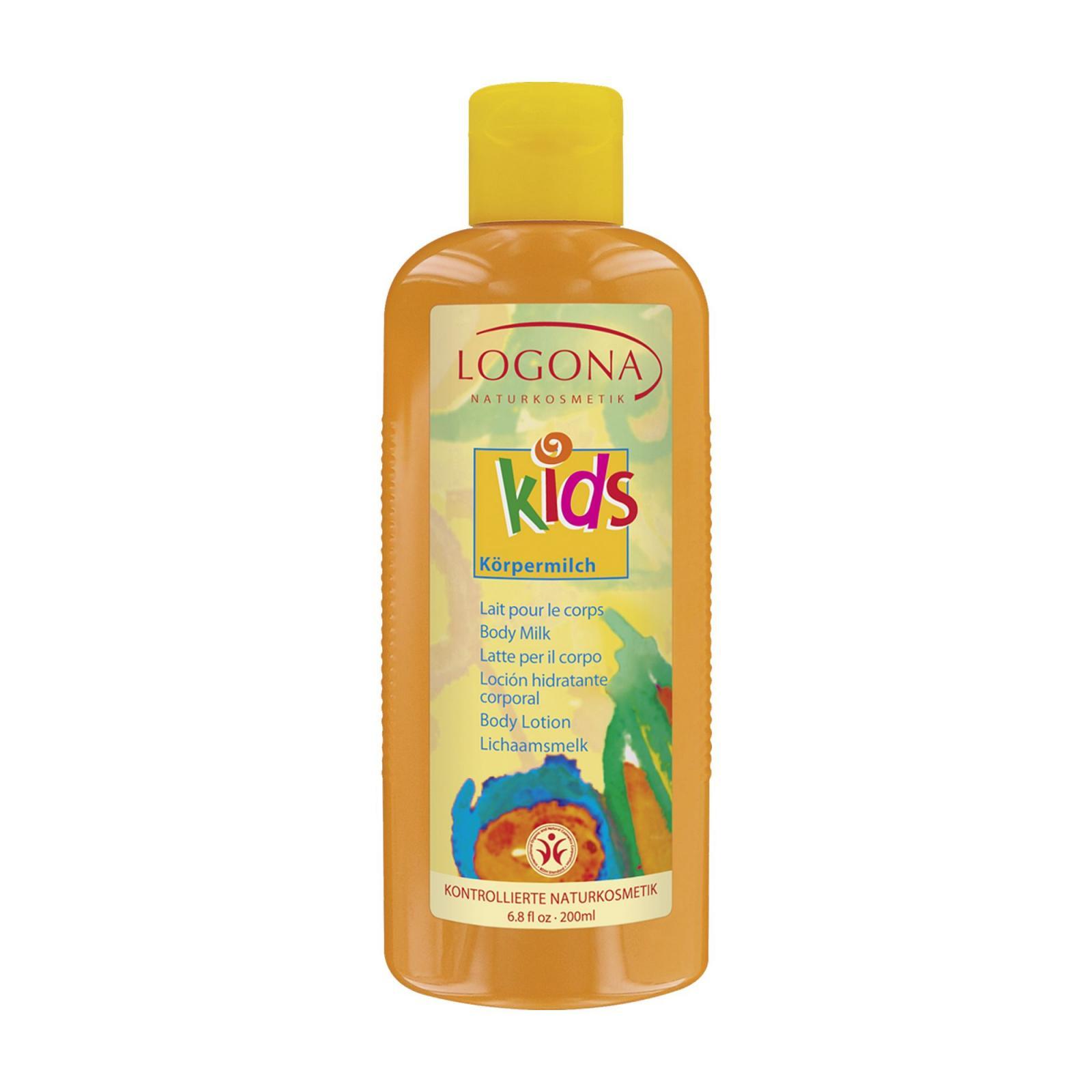 Logona Tělové mléko, Kids 200 ml