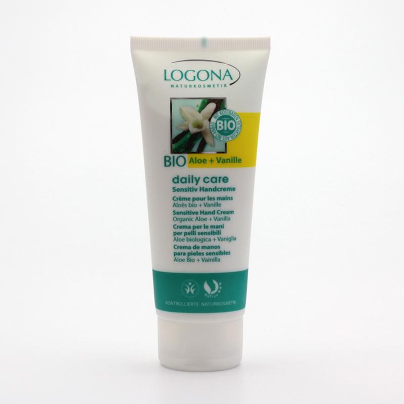 Logona Krém na ruce bio aloe a vanilka, Daily Care Sensitive - vyřazen 100 ml
