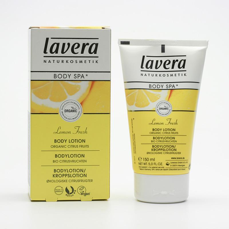 Lavera Tělové mléko citrusové plody, Body Spa 150 ml