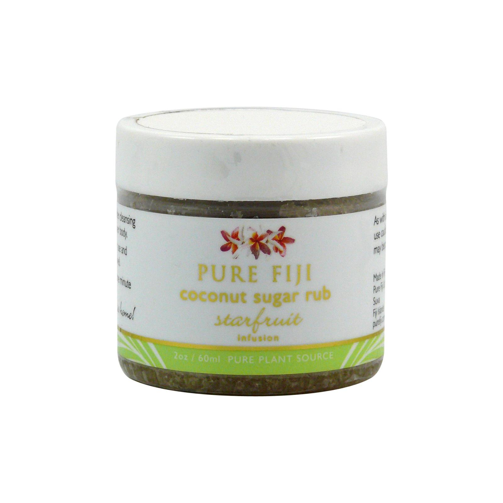 Pure Fiji Kokosový peeling s třtinovým cukrem, karambola 59 ml