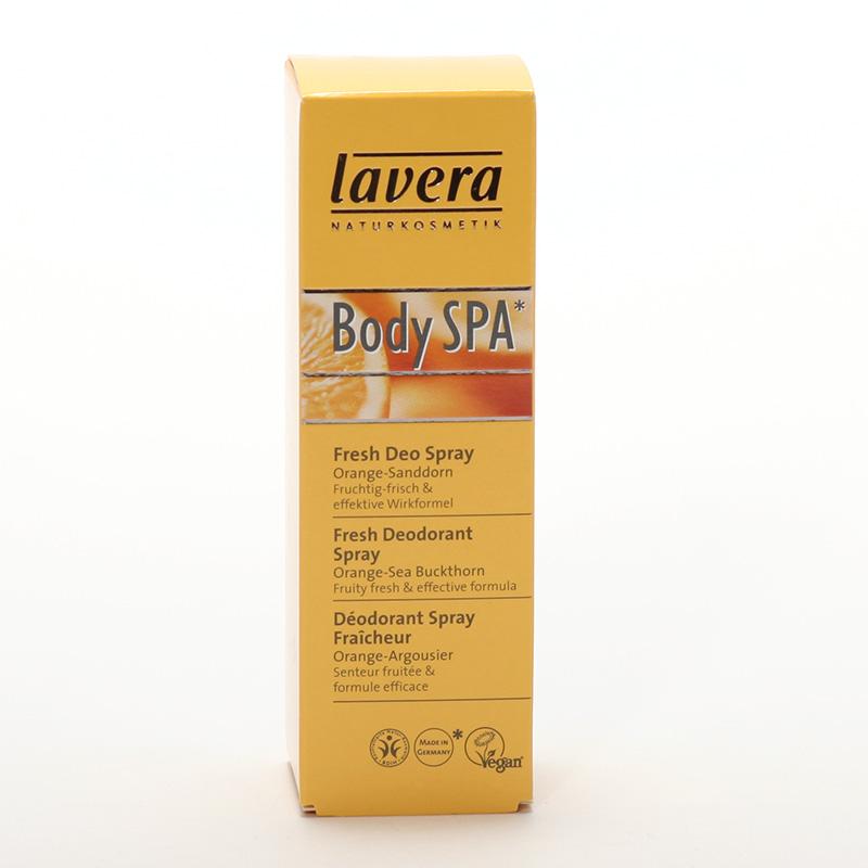 Lavera Deodorant sprej pomeranč a rakytník, Body Spa 50 ml