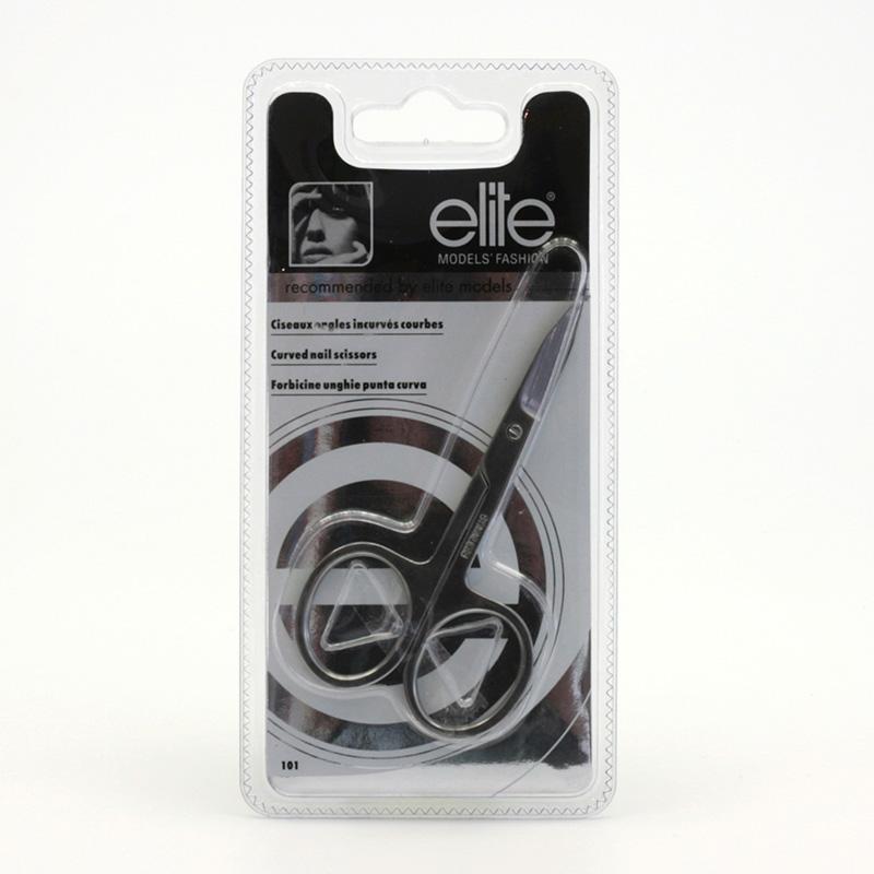 Elite Výprodej Nůžky na nehty zahnuté 1 ks