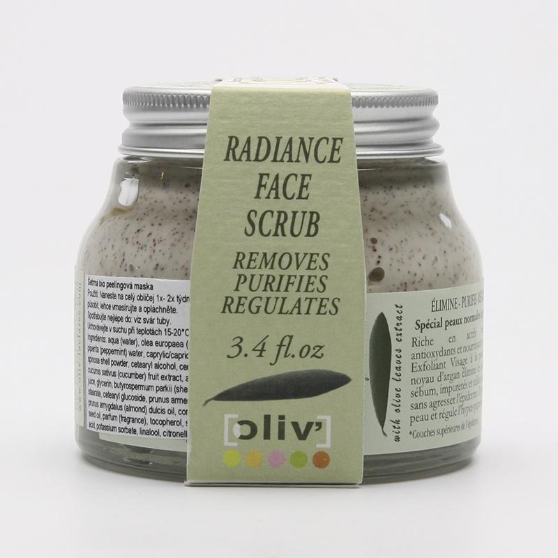 La Clarée Maska peelingová ošetřující, oliv' 100 ml
