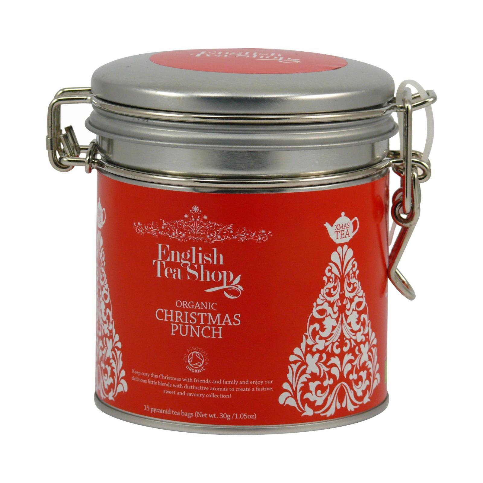 English Tea Shop Vánoční punč, plechová kazeta 30 g, 15 ks
