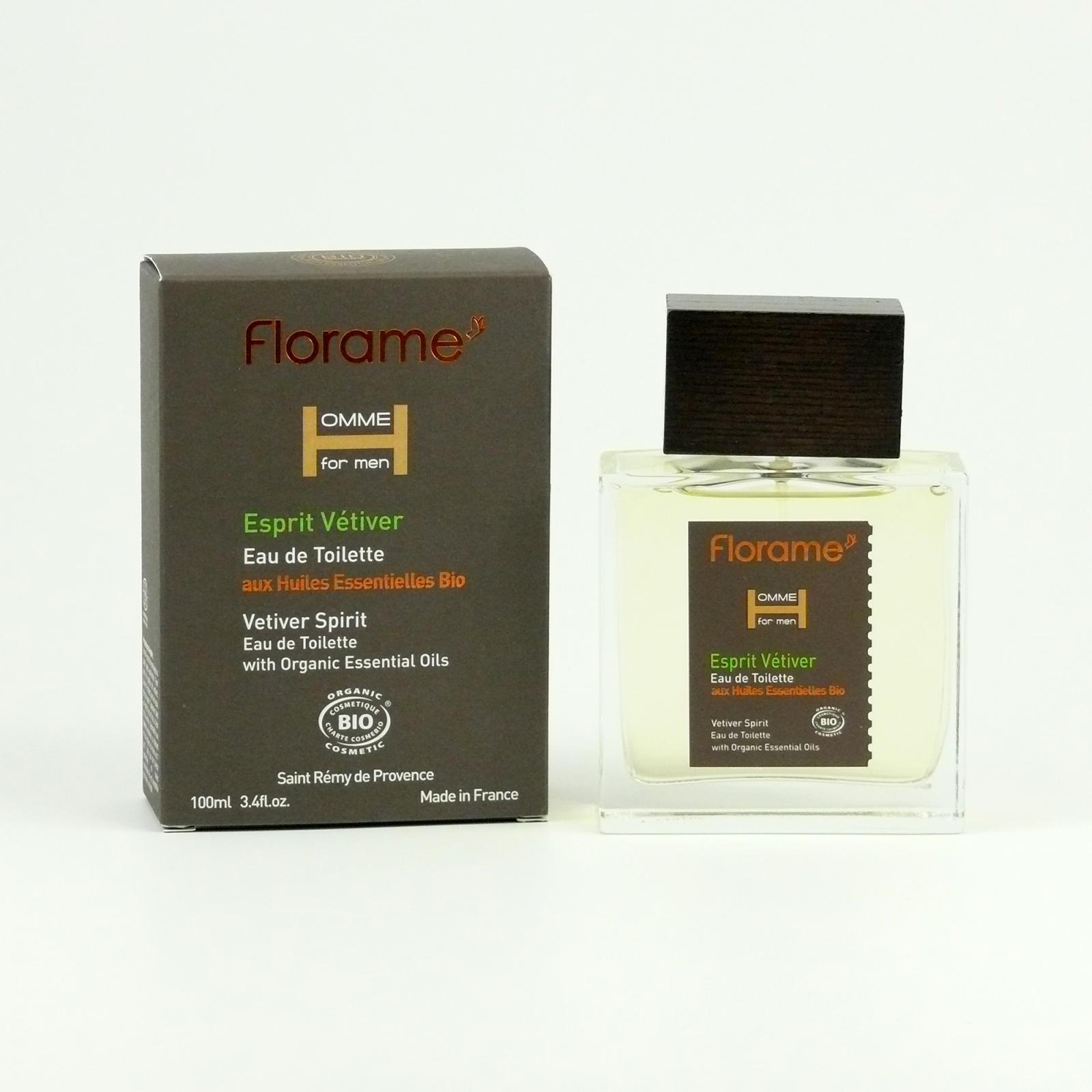 Florame Pánská toaletní voda Vetiver Spirit 100 ml
