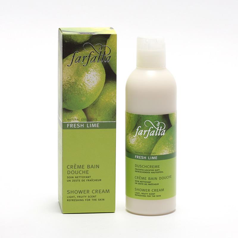 Farfalla Sprchový krém, Fresh Lime 200 ml