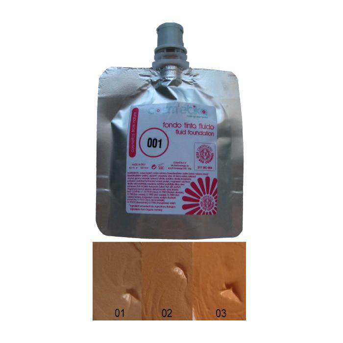 Cosm´etika Krémový make-up 01 béžová 40 ml