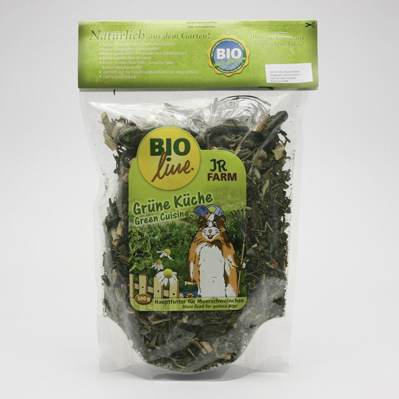 JR Farm Biokrmivo pro morčata, Green Cuisine 1,5 kg