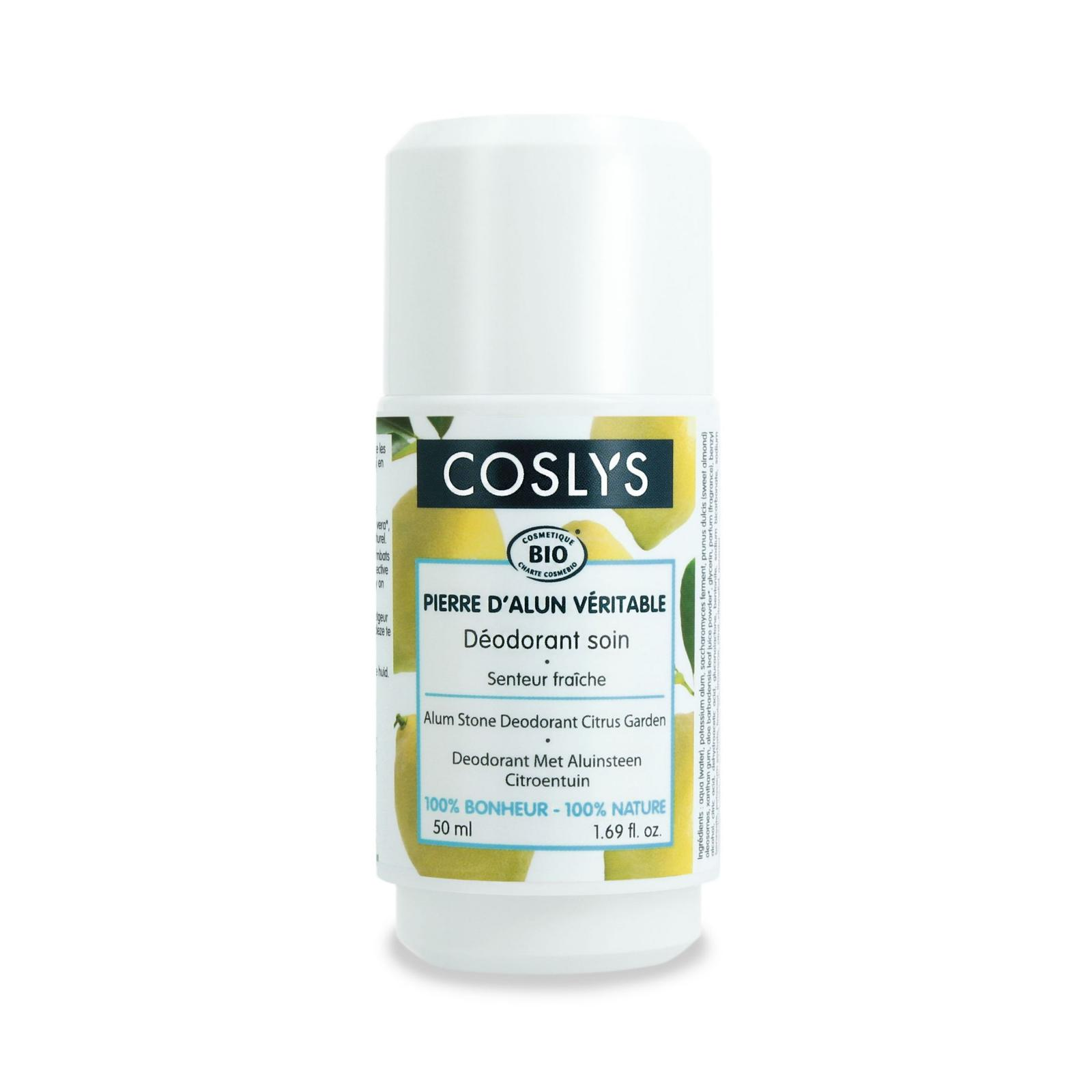 Coslys Deodorant citrusová zahrada 50 ml roll-on