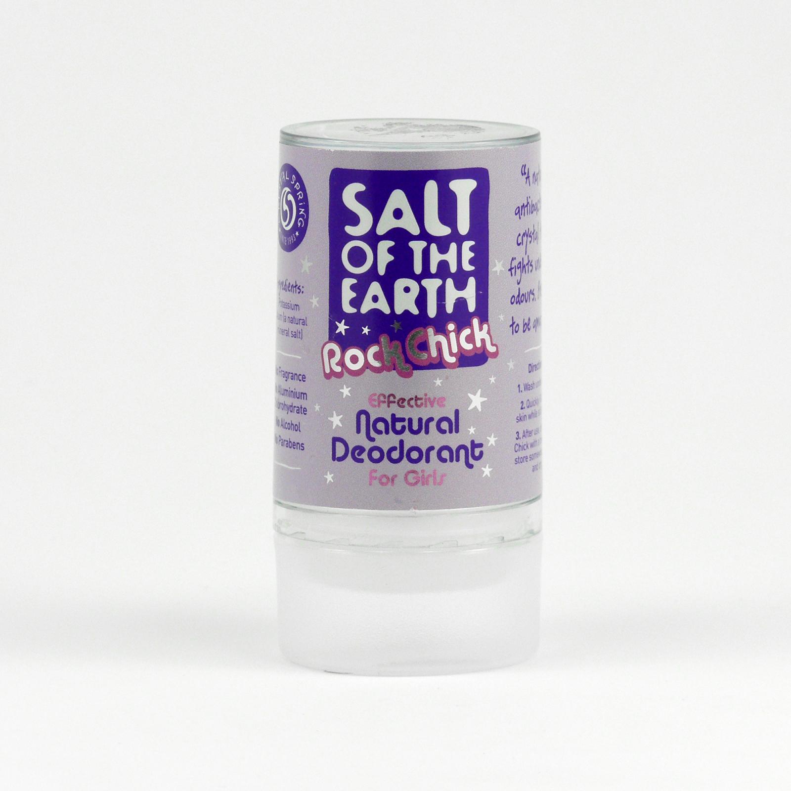 Crystal Spring Tuhý krystalový deodorant Salt of the Earth, pro děti 90 g