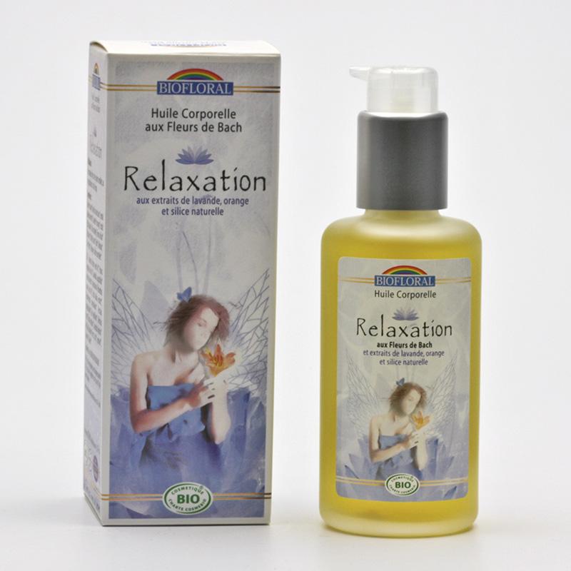 Biofloral Výprodej Tělový olej s květy Dr. Bacha relaxace 100 ml