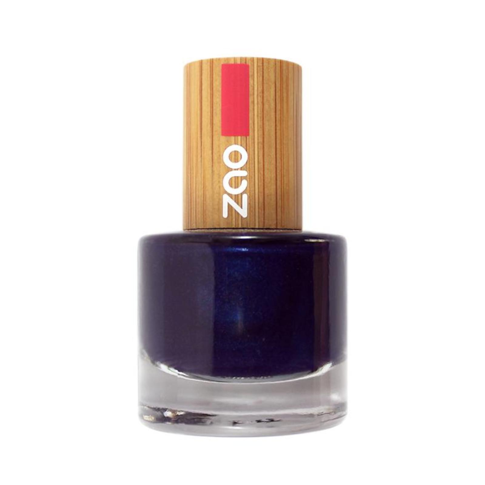ZAO Lak na nehty 653 Night Blue 8 ml