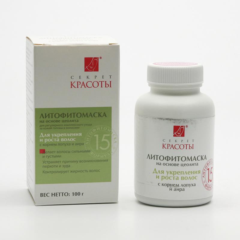 Hloubková hygiena kůže Litofyto-maska 15, zpevnění a růst vlasů